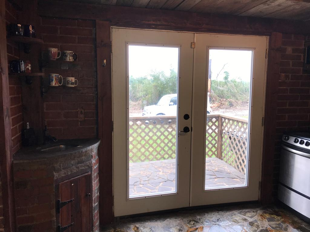 Kitchen Exterior Door